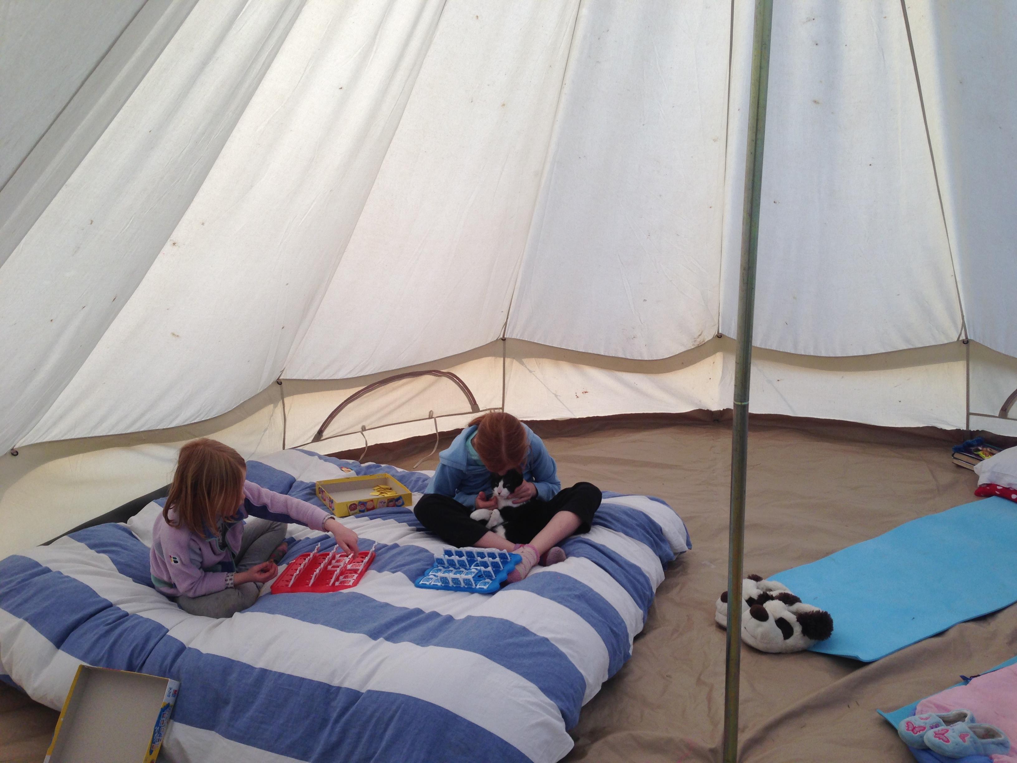 Family Camping trip at Botany camping and glamping near