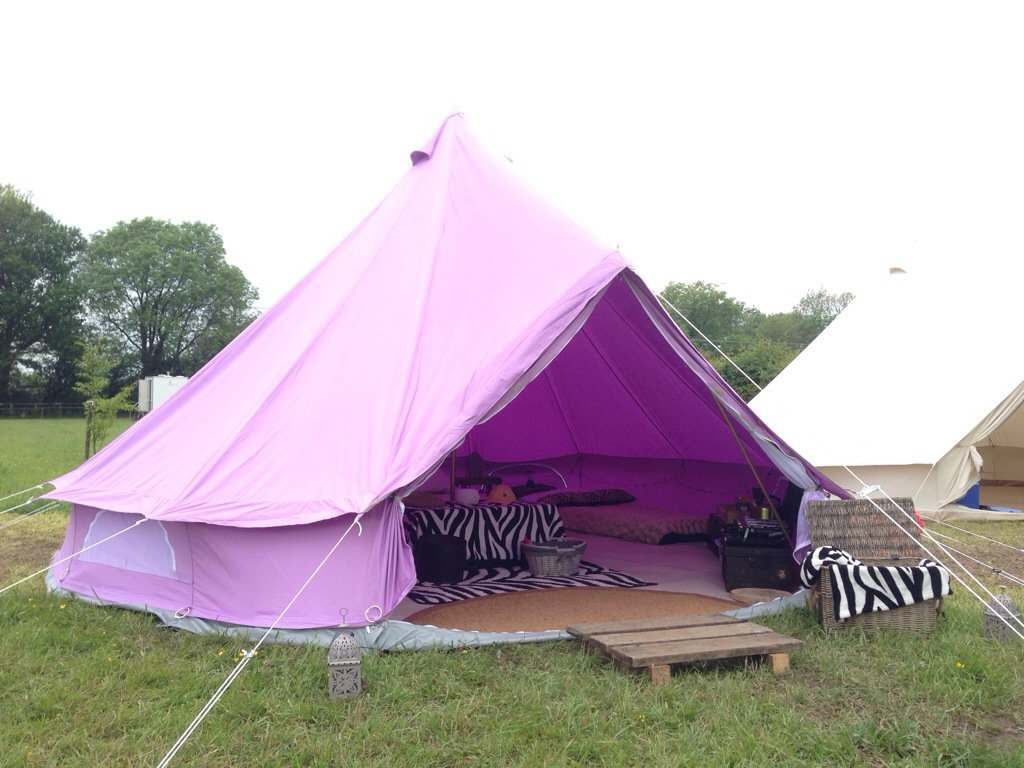Bell Tent Glamping Botany Camping